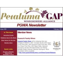 Guarachi Family Wines Featured in PGWA Newsletter