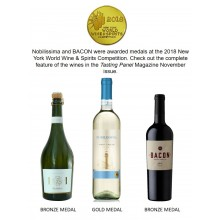 Nobilissima and BACON Receieve Medals at the 2018 New York World Wine & Spirits Competition