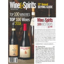 """Santa Ema Included in Wine & Spirits """"Top 100 Wines of 2018"""" Issue"""