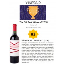 VinePair Names VIK Millahue 2013 #3 of Top 50 Wines of 2018