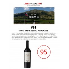Norton Privada 2015 Receives 95 Points + Named #68 Top 100 Andean Wines of 2018