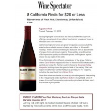 Parker Station Recommended by Wine Spectator as New California Find for $20 or Less