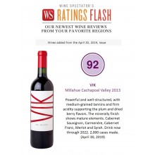 VIK Receives High Ratings from Wine Spectator