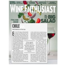 Wine Enthusiast's July 2019 Buying Guide Featured VIK and MontGras