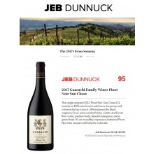 GFW 2017 Sun Chase Pinot Noir Receives 95 Points from Jeb Dunnuck