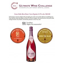 Gran Sello Brut Rose Earns 91 Points and a Great Value Award by Ultimate Wine Challenge 2019