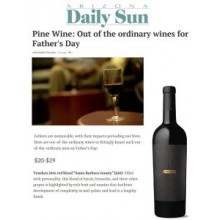"AZ DAILY SUN NAMES TENSHEN RED ""OUT OF THE ORDINARY WINES FOR FATHER'S DAY"""