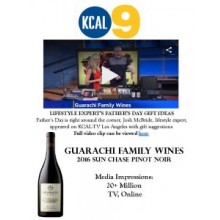 Guarachi Family Wines Featured on CBS Los Angeles' Father's Day Gift Guide
