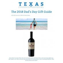 TEXAS LIFESTYLE MAGAZINE FEATURES BACON IN THEIR DAD'S DAY GIFT GUIDE