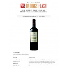 Guarachi Family Wines 2015 Napa Valley Cabernet Featured in Wine Spectator Ratings Flash