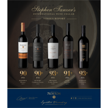Steven Tanzer's Vinous 2019 Argentina Report Included Ratings for Norton and Kaiken