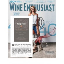 Bodega Norton Altura Cabernet Franc 2017 Gets Editors' Choice and 92 from Wine Enthusiast