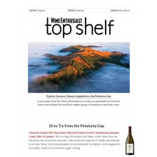 Guarachi Family Wines Featured in Wine Enthusiast's Top Shelf Newsletter