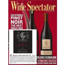 Guarachi Family Wines G by Alex Guarachi 2016 Received 91 Points from Wine Spectator
