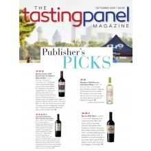 Bacon + Guarachi Family Wines + Norton Featured in Tasting Panel's Oct 2019 Publisher's Picks